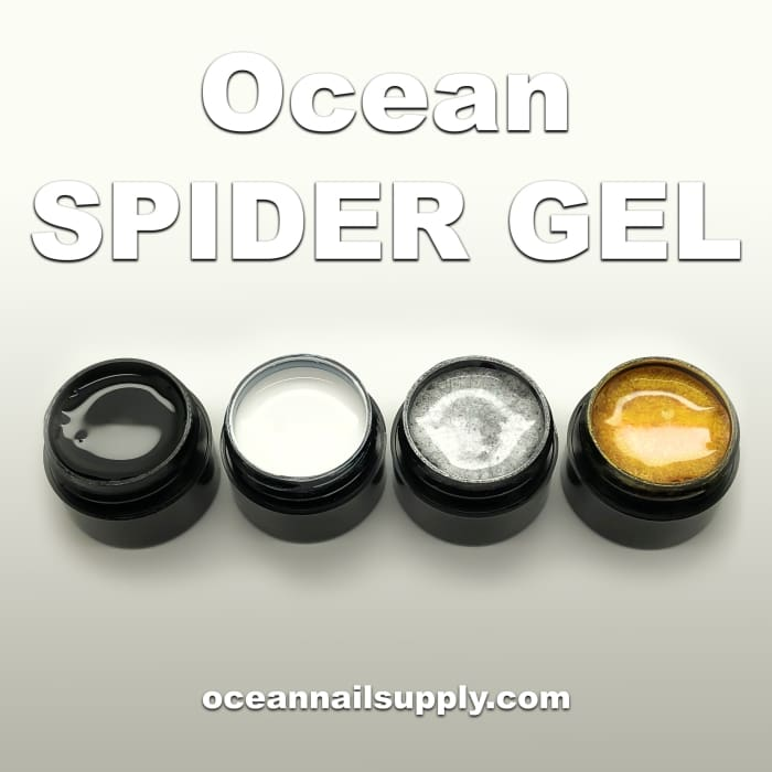 Ocean Spider Gel - White - OceanNailSupply