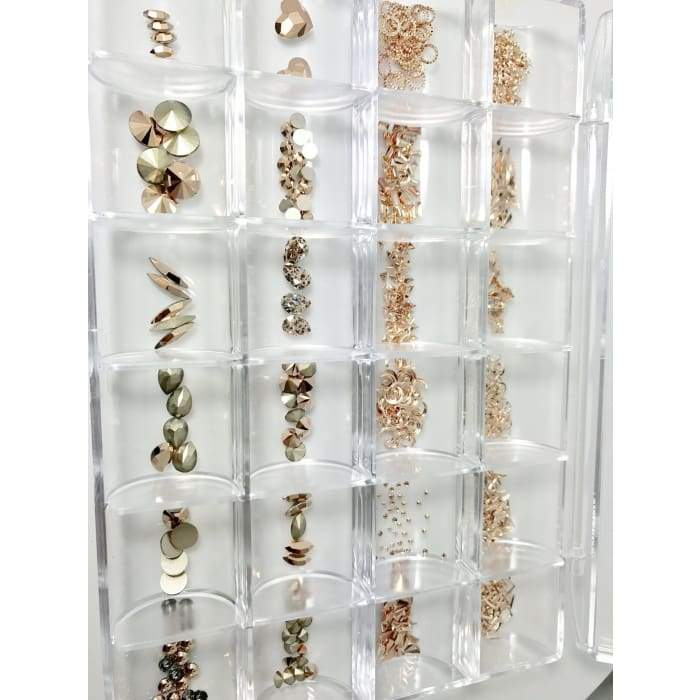 Swarovski Crystals Rose Gold Collection - OceanNailSupply
