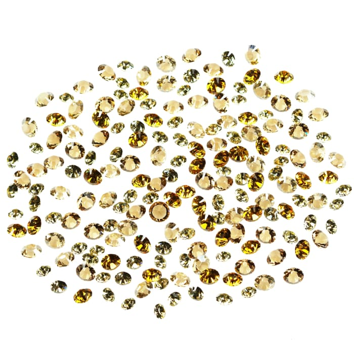 Swarovski Crystals Mixed Pack Chaton HONEY 180 pcs - OceanNailSupply