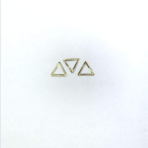Thin Frame Gold Triangle Frame - OceanNailSupply