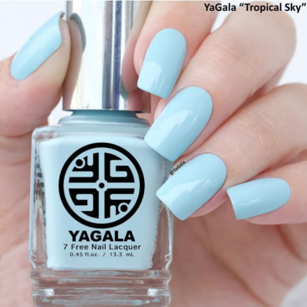 YAGALA NAIL POLISH #013 TROPICAL SKY - OceanNailSupply