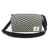 Ash Chevron Ellie Crossbody - Crab Terror Island