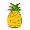 Night Owl Paper Goods - Pineapple Enamel Pin - Crab Terror Island