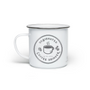 Designated Coffee Drinker - Enamel Mug - Crab Terror Island