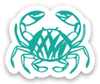 Mini Crab Decal - Crab Terror Island