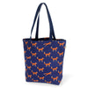 Lady Alamo - Everyday Tote: Fox - Crab Terror Island