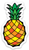 Pineapple Decal - Crab Terror Island