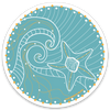 Starfish Decal - Crab Terror Island
