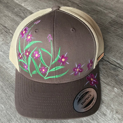 Fireweed Hat (Brown) 01 - Crab Terror Island