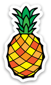 Pineapple Mini Decal - Crab Terror Island