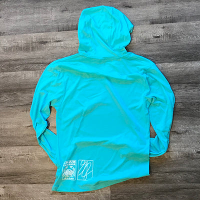 Big Dipper Whale Hooded T-shirt - Crab Terror Island