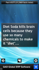 6 REASONS TO PUT THAT DIET SODA DOWN RIGHT NOW