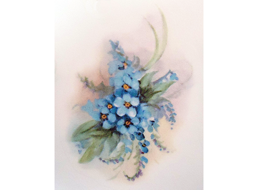 Blue Forget Me Not Flowers  11914 C