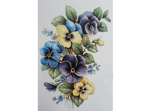 Pansy Flowers 2276 Captive Decals