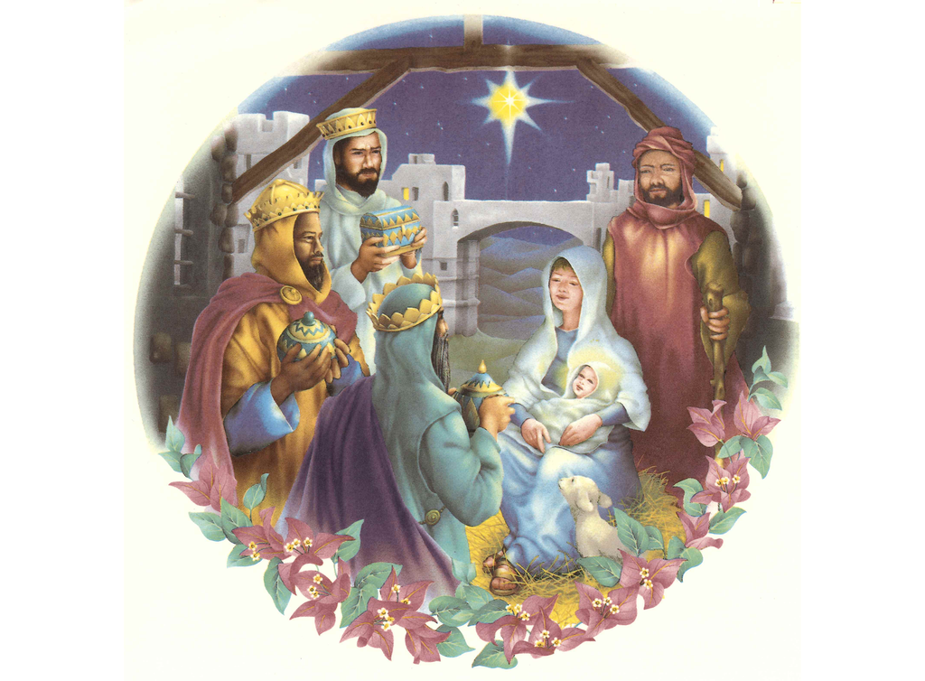 2398 Christmas Nativity
