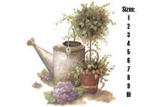 Watering Can & Topiary  296