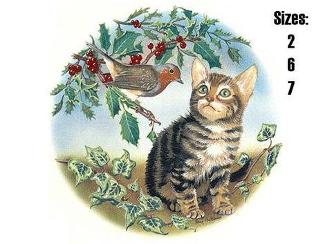 Cat and Robin  Item # 42331 B