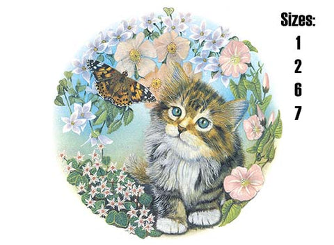 Cat and Butterfly  Item # 42331 C
