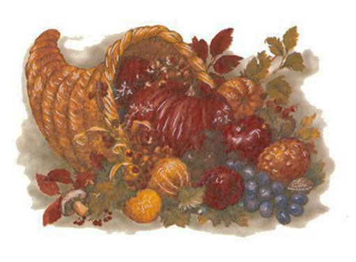 4710 Thanksgiving Cornucopia