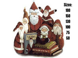 Christmas Santa time Jolly Folk Art Santas 487