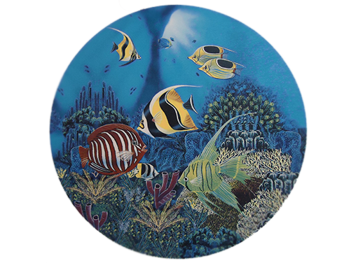 Fish Sea Tropical Ocean Ceramic Decals Item # 10322
