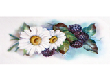 Blackberries & Daisy  11908A