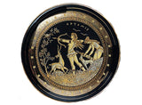 Gold Greek Plate Scenes  Item # 1544
