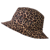 Leopard Print summer bucket hat