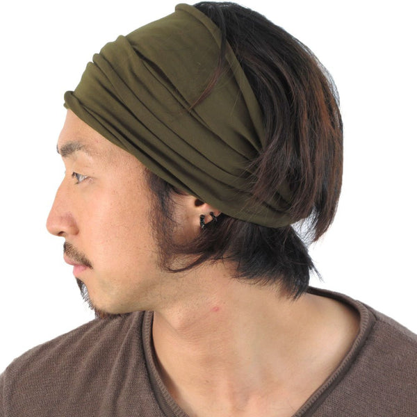 Casualbox Japan Womens Mens Ladies Unisex Gender Neutral Hairband Headband  Turban Bandana Yoga Fitness Gym Hair d1a65d4cb81