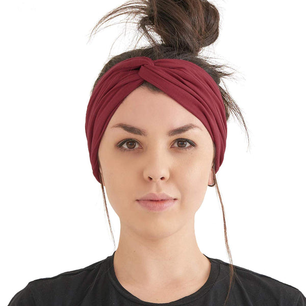 Womens Summer Criss Cross Yoga Twist Headbands