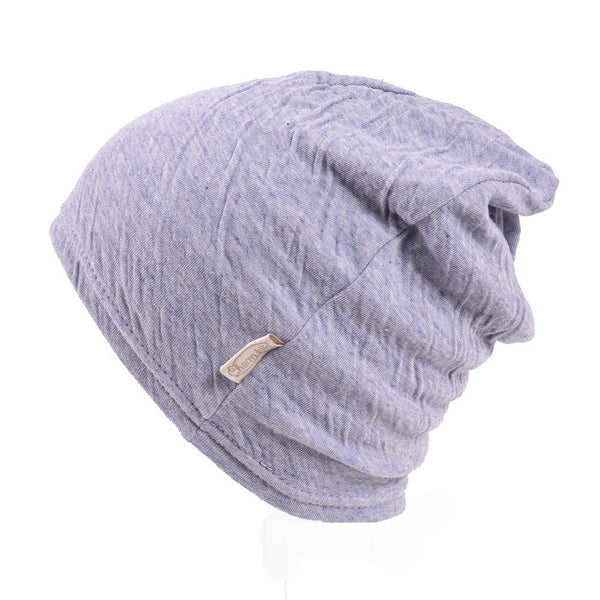 Purple Baby Beanie Organic Cotton