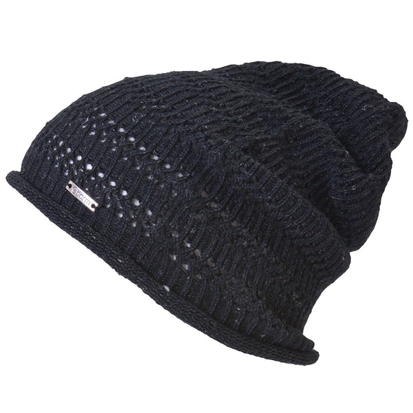 Casualbox Japan 100% Hemp Beanie Watch Cap Hat Ladies Womens Women Mens Men Unisex Gender Neutral Black