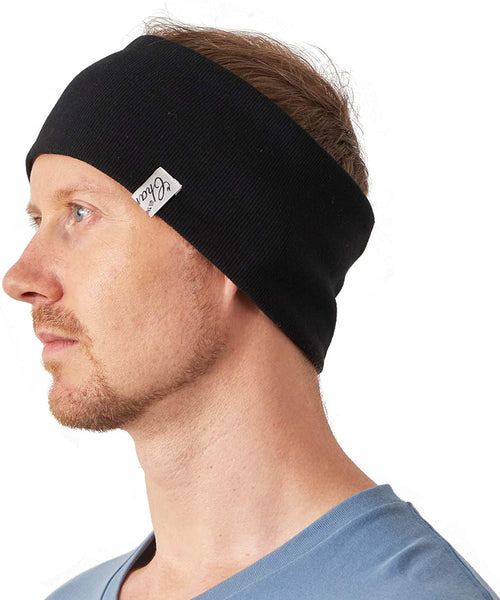 Reversible Cotton Athletic Sweatbands for Yoga Exercise Crossfit