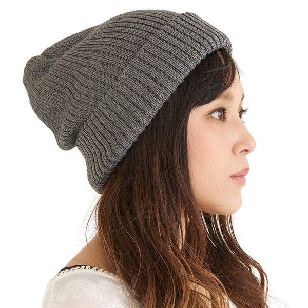 Very Soft And Thick Silk Beanie for Fall and Winter