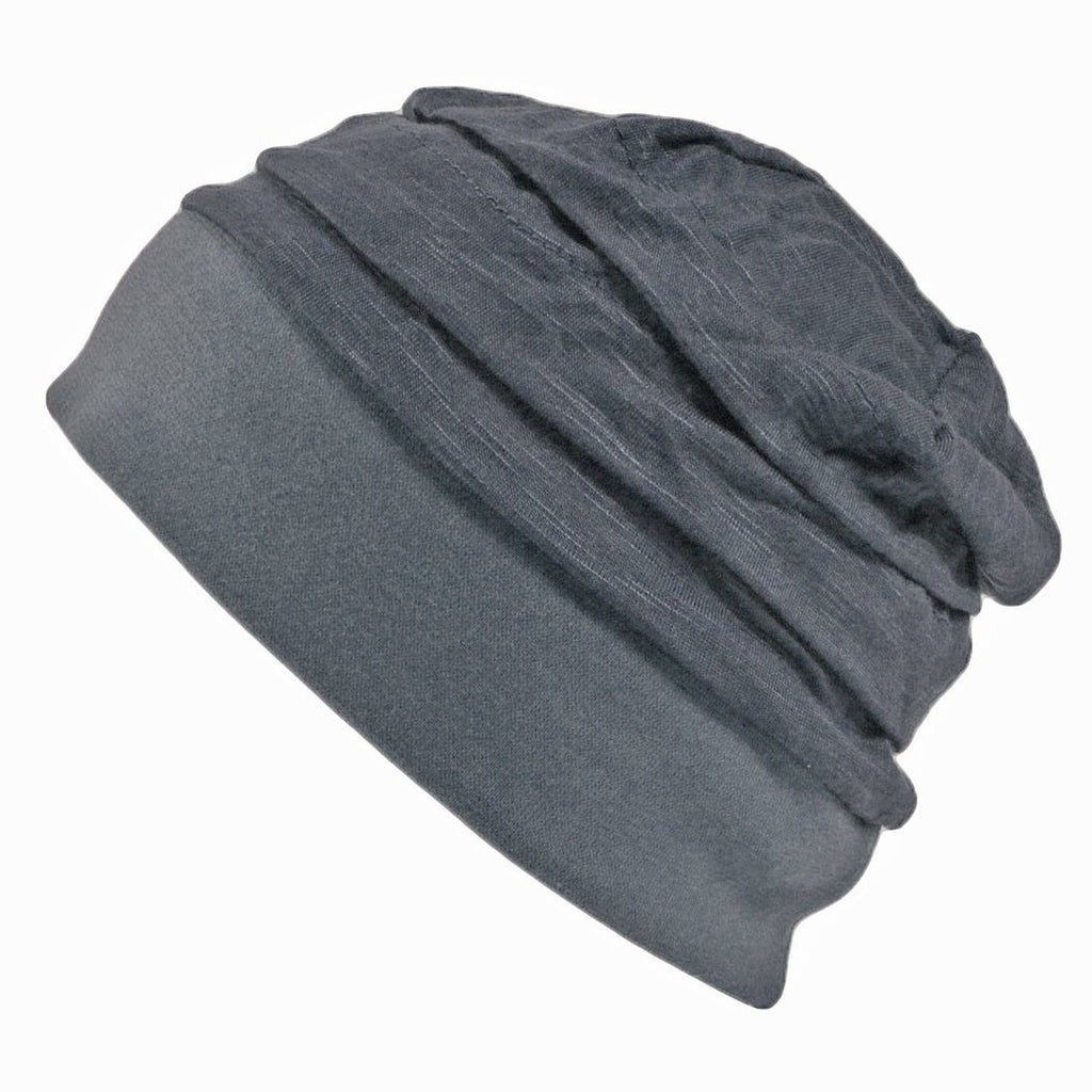 Kids Childrens Summer Spring Beanie Cooling Breathable Comfortable Grey Gray