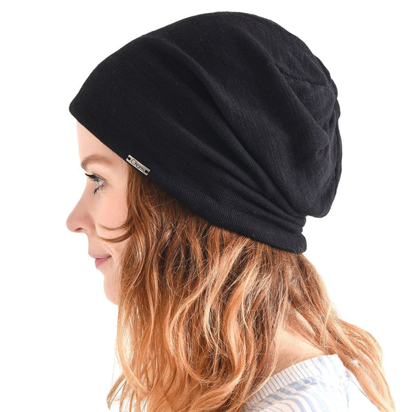Cotton Baggy Beanie