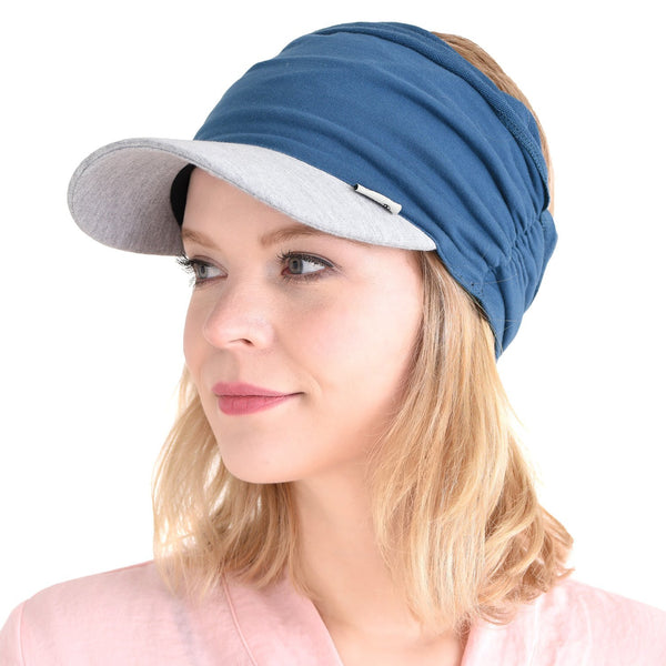 Casualbox Blue Gray Sun Visor