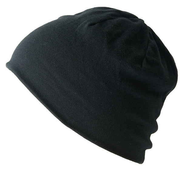 Form Fitting Organic Cotton Beanie Great for Chemotherapy Patients