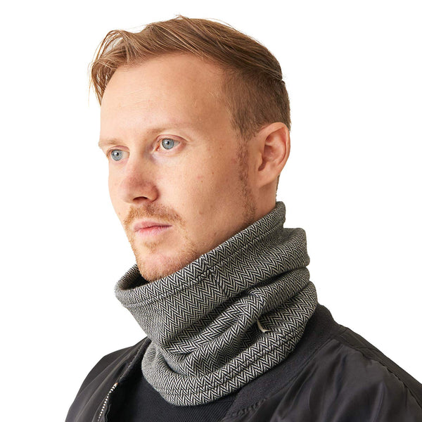 Neck Gaiter Neckwarmer Ear Earmer Black