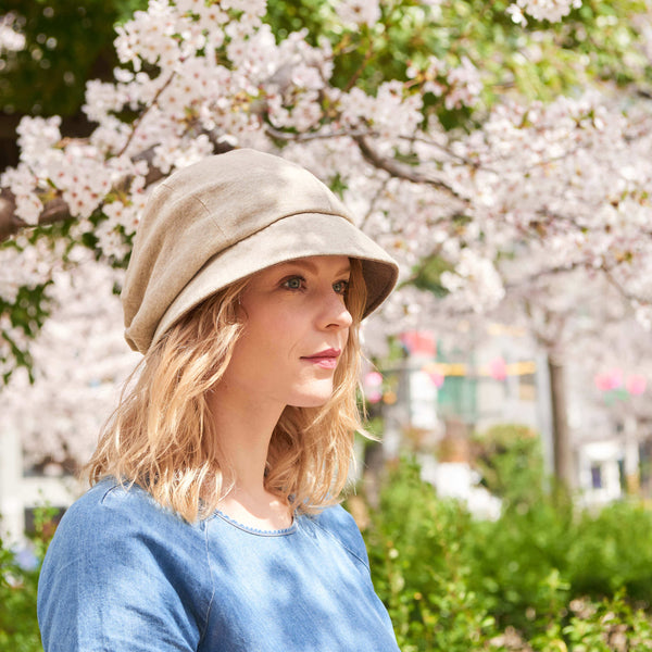 Womens Sun Hat Organic Cotton