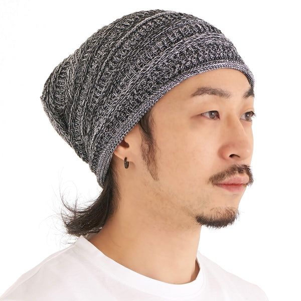 Super Slouchy Summer Knit Beanie Hat for Men & Women