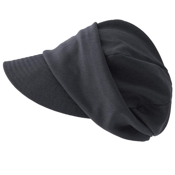 Slouchy Baker Boy Organic Cotton Lined Hat for Winter