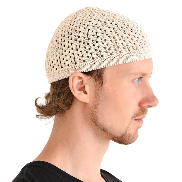 100% Cotton Kufi Skull Cap