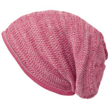 Casualbox Japan Beanie Watchcap Slouchy Slouch Baggy Loose Made in Japan Mens Womens Men's Women's Ladies Lady Unisex Gender Neutral Anti-odor Mix Pink