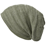 Casualbox Japan Beanie Watchcap Slouchy Slouch Baggy Loose Made in Japan Mens Womens Men's Women's Ladies Lady Unisex Gender Neutral Anti-odor Mix Khaki