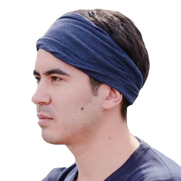 100% Organic Cotton Yoga Headband