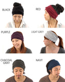 Casualbox Japan Womens Mens Ladies Unisex Gender Neutral Hairband Headband Turban Bandana Yoga Fitness Gym Hair Band Head Black Red Purple Light Grey Gray Charcoal Navy