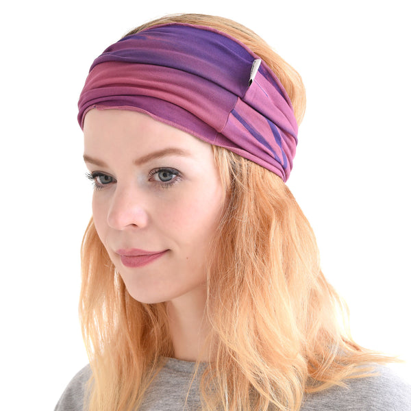 Tie-Dye Wrap Yoga Headband