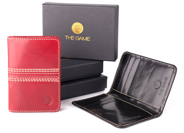 Leather Slim Travel Wallets for Men Gifts for Dad