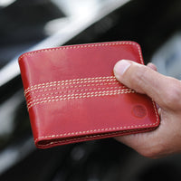 Mens slim leather wallet gift ideas